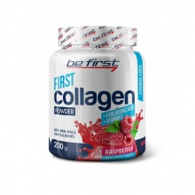 Коллаген Be First COLLAGEN powder- Hyaluronic acid Vitamin  C 200 гр